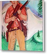 The Scout Portrait Of The Artist At Age 24 Metal Print