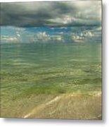 The Sea And The Sky Metal Print
