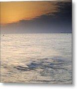 The Sea Before The Rain Metal Print