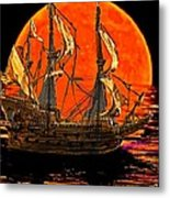 The Sea Of Broken Dreams Metal Print