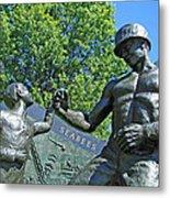 The Seabees At Arlington Metal Print