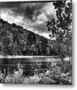 The Secluded Bald Mountain Pond Metal Print