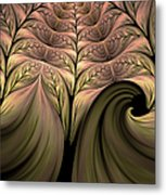 The Secret World Of Plants Abstract Metal Print
