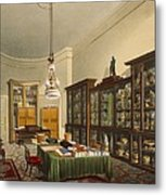 The Secretarys Room, Apsley House Metal Print
