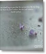 The Seed Metal Print by Barbara Shallue