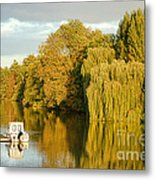 The Seine At Bonnieres Metal Print by Olivier Le Queinec