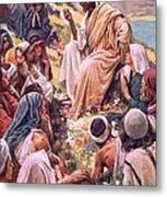 The Sermon On The Mount Metal Print