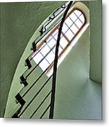 The Servants' Staircase Metal Print