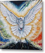 The Seven Spirits Series - The Spirit Of The Lord Metal Print