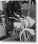The Shadow Of The Eagle Homage 1932 Jack Wilson Stuntman Globe Arizona 1969 Metal Print