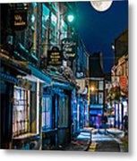 The Shambles Street In York U.k Hdr Metal Print