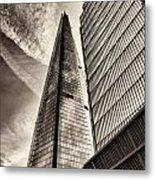 The Shard - The View Metal Print