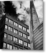 The Shard From Tooley Street Metal Print