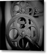 The Sharpening Wheel Metal Print by C E Dyer