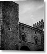 The Shattered Fortress Metal Print