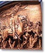 Saint Gaudens' The Shaw Memorial Metal Print