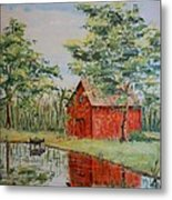The Shed - Sold Metal Print