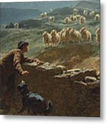 The Sheepstealer Metal Print