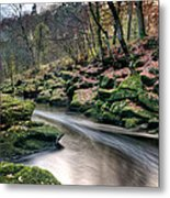 The Shimmering Strid Metal Print