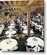The Ship Cafe Dining Room In Venice Ca 1910 Metal Print