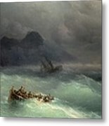 The Shipwreck Metal Print