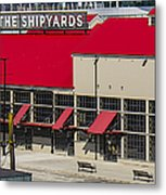 The Shipyards In Vancouver Metal Print