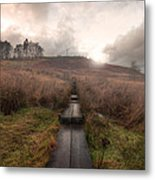 The Shire Is This Way. Metal Print