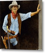 The Shootist... Metal Print