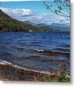 The Shore Of Loch Lomond  Metal Print