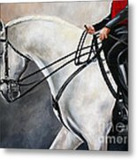 The Show Horse Stride Metal Print