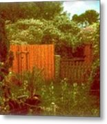 The Side Yard Metal Print