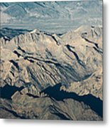 The Sierra Nevadas Metal Print