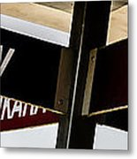 The Signpost Metal Print