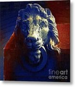 The Silence Of Stone Metal Print
