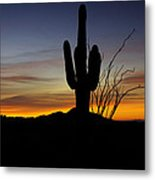 The Simple Beauty Of A Sunrise  Metal Print