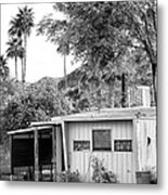 The Simple Life Bw Metal Print