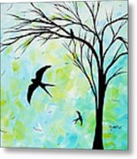 The Simple Life By Madart Metal Print