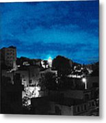 The Sky And The Night Metal Print