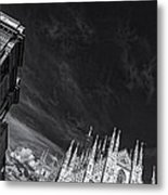 The Sky Over Cathedral Metal Print