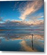 The Sky Whispered Metal Print