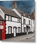 The Smallest House In Great Britain Metal Print