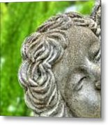 The Smiling Angel Buffalo Botanical Gardens Series Metal Print