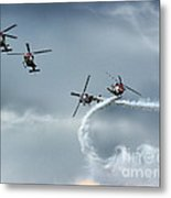The Smoke And Propellers Metal Print