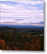 The Smokey Mountains From Hanging Rock State Park Metal Print