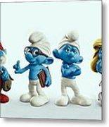 The Smurfs Movie Metal Print