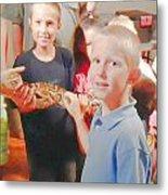 'the Snake 2' Metal Print