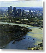 The Snaking River Thames Metal Print