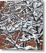 The Snow And The Wall Metal Print by Frederico Borges