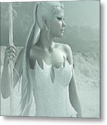 The Snow Queen Metal Print by Melissa Krauss