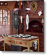The Soft Clock Shop 3 Metal Print